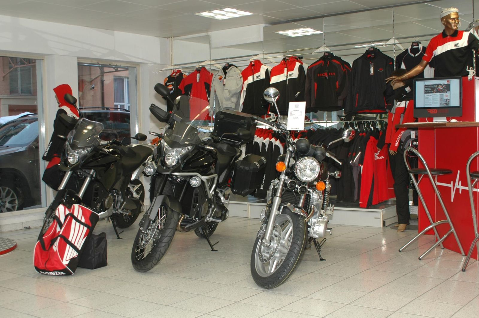 Lang und Sigel Honda Motorräder Kreuzlingen